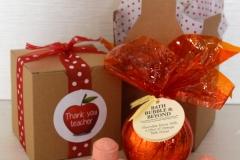 Thank You Teacher Chocolate Orange Bath Fizzer