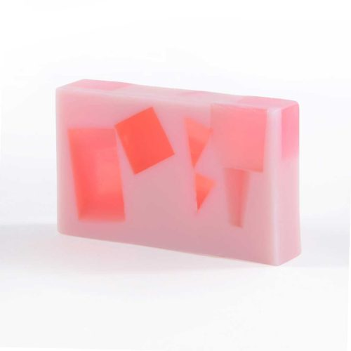 Strawberry Surrender Soap Slice