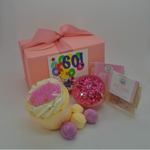 Celebrate Her 60th Birthday Quirky Pamper Hamper